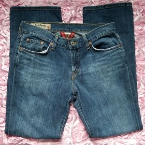 VINTAGE LUCKY BRAND CLASSIC RIDER JEANS 6/28